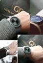 Tytanowy zegarek męski Giacomo Design GD12 3 WZORY Typ naręczny