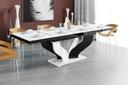 Stół rozkładany VIVA|Biało-Czarny|Połysk|HIT 2019