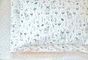 Постельное БЕЛЬЕ В КРОЛИКИ И ЦВЕТЫ / РОЗОВЫЙ размер 120x90