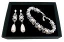 Komplet ślubny z kryształów i pereł SWAROVSKI 1963