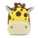 Рюкзак  плюшевый для дошкольника жираф