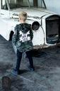 Bluza MORO czarne spodnie koszulka 3w1 116 122 Marka Inna marka