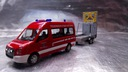 093255 VW Crafter Bus HD with safety traffic trail