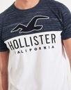Koszulka Męska HOLLISTER Bawełna Logo T-SHIRT XL Płeć Produkt męski