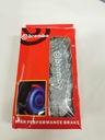 Nakładki 3D na zaciski hamulce BREMBO ABS srebrne Numer katalogowy producenta MSSw