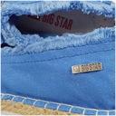 Espadryle damskie Big Star niebieskie DD274757 40 Marka Big Star
