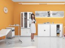 Szafa na leki lekarska medyczna PROMOCJA -20% Wysokość 180 cm