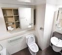 Komplet dywaników łazienkowych WC 3 sztuki nr42