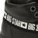 Big Star trampki EKOSKÓRA CZARNE wysokie EE274355 Marka Big Star