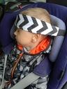 OPASKA PODTRZYMUJĄCA GŁOWĘ dziecka PAS do fotelika