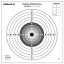 Tarcze strzeleckie tekturowe 14x14 cm 100 szt #3
