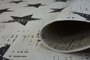 DYWAN SIZAL OUTDOOR 120x170 GWIAZDY ZYGZAK +GRATIS Grubość 6 mm