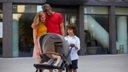 Wózek dzieciecy Kinderkraft PRIME LITE 3w1 Szerokość produktu 59 cm