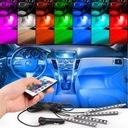 OŚWIETLENIE WNĘTRZA AUTA KABINY RGB LED + PILOT ! Numery katalogowe zamienników oświetlenie samochodu