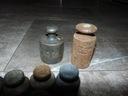 Старые латунные гири,Ноль ,5 кг.,10 г.и 20 г.