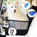 Fotelik samochodowy dla psa transporter legowisko