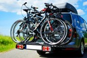 STORM 4 - Bagażnik uchwyt rowerowy na hak 4 rowery Typ uchwytu platforma