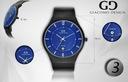 Tytanowy zegarek męski Giacomo Design GD12 3 WZORY Kształt koperty okrągła