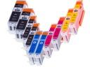 10 Tusze XXL do CANON Pixma IP7250 MG5650 MG5550 Oznaczenie producenta 550-551