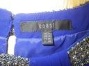 Coast elegancka szyfonowa kobaltowa tunika r 44 Rozmiar 44 (XXL)