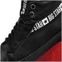 Big Star trampki damskie czarne EE274355 40 Kolor czarny