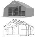 8x8m 3-5,1m Namiot magazynowy hala namiotowa