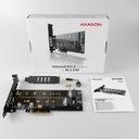 Adapter M.2 NVMe PCI Express 2x Dyski SSD M.2 SATA EAN 8595247903846