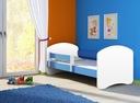 Łóżko dziecięce 140x70 materac ACMA II + stelaż EAN 5902539941821