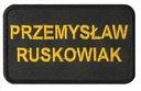 ПОЛОСА ИМЕННАЯ ОХРАНА PSP KSRG ОПС вышивка имя доставка товаров из Польши и Allegro на русском