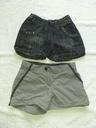 Decathlon 2x krótkie spodenki dziewczęce 116-122cm