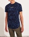HOLLISTER by Abercrombie T-shirt Koszulka USA L Wzór dominujący logo