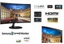 Zakrzywiony Samsung C24F390FHUX VA 4ms HDMI CURVED Kąt widzenia w pionie 178°