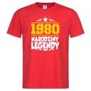 Koszulka na urodziny 18 20 30 40 50 60 dowolny rok Rozmiar XXL