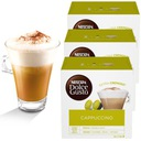Kapsułki Nescafe Dolce Gusto Cappuccino kawa 3+1 Gatunek kawy Arabica
