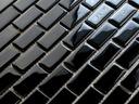 Мозаика стекло черная Кирпич 804 Ванная комната , Кухня