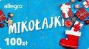 Karta Podarunkowa Mikołajki - 100 zł
