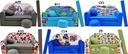 KANAPA SOFA rozkładana dla dzieci łózko poduszka EAN 5903268303416