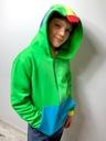 Bluza dziecięca LEON gra BRAWL STARS zielona 134 Marka Inna marka