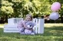 MIŚ PLUSZOWY DUŻY PREZENT CHRZEST HAFT METRYCZKA Wiek dziecka 3 lata +