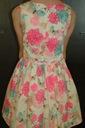 Elegancka letnia sukienka- roz. 134 Płeć Dziewczynki