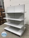 Regał środkowy sklepowy metalowy regały gondola Rodzaj półek regulowane