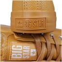 Trampki Big Star żółte ekoskóra EE274392 38 Materiał zewnętrzny tworzywo skóropodobne