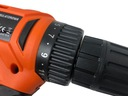 Wiertarko wkrętarka 18V akumulatorowa LI-ION 2 AKU Pojemność akumulatora 2 Ah