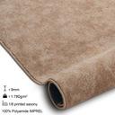 GRUBA MIĘKKA WYKŁADZINA BEŻ 300cm 3M ^*X201 Kolor kremowy beżowy odcienie brązowego