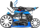 POLSKA KOSIARKA SPALINOWA 8KM 13w1 NAPĘD 55cm XXXL Pojemność silnika 170 cm³