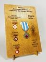 Ekspozytor NEW na odznaki zasłużonego HDK imię Oryginał oryginał
