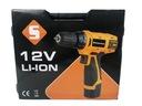 Wiertarko wkrętarka 12V akumulatorowa LI-ION 2 AKU Marka Inny producent