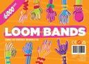 Loom Bands gumki, 6000 sztuk, 3 krosna, 2 kuferki Płeć Chłopcy Dziewczynki