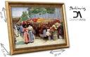 J. привлекает туристов живописными отвесными стенами Рынок на цветы перед церковью Париж