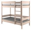 Łóżko dziecięce dla dzieci piętrowe 180x80 Marka inna